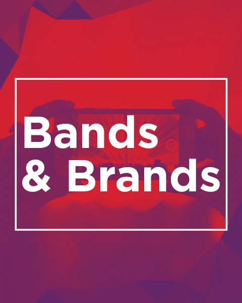 Bands and Brands white paper cover image