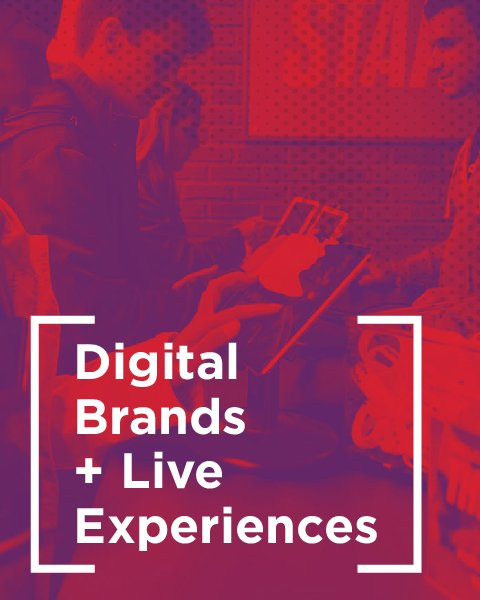 Digital Brands and Live Experiences white paper cover image