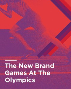 The New Brand Games at the Olympics white paper cover image